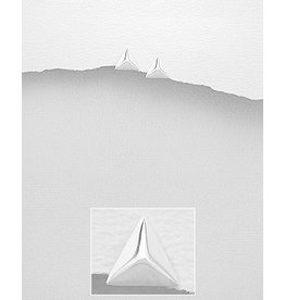 Sterling Studs- Pyramids