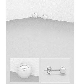 Sterling Studs- Silver Balls (L)