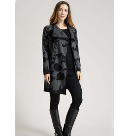 Fashion Village LTD. Two Tone Floral Jacket (One Size) More Colours