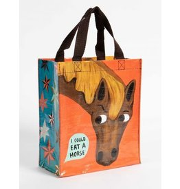 Blue Q Handy Tote- I Could Eat A Horse