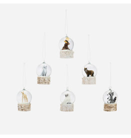 180 Degrees Woodland Globe Ornaments