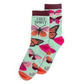 Karma Socks- Butterfly
