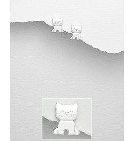 Sterling Cat Studs