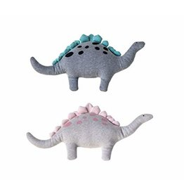 Creative Co-op Cotton Knit Dinosaurs