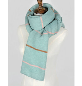 nairn Striped Knit Scarf