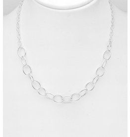 Sterling Necklace- Thick Chain