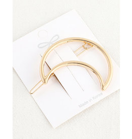 E&S Accessories Moon Hair Clip