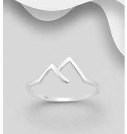 Sterling Ring- Mountain