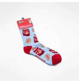 Main and Local Ketchup Socks