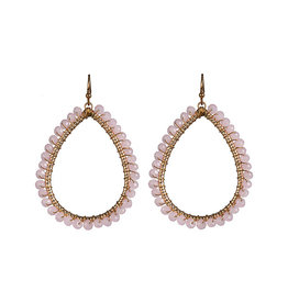 E&S Accessories Beaded Earrings (More Colours)