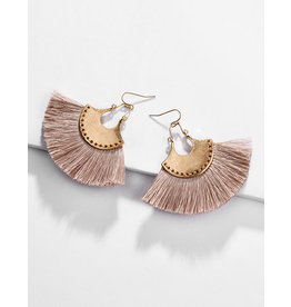 E&S Accessories Tassel Earrings
