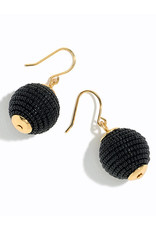 E&S Accessories Beaded Circle Earrings