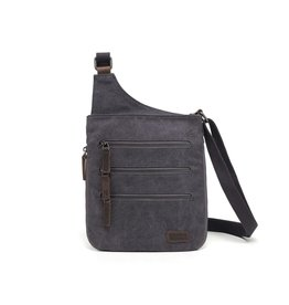 DaVan Co. Elysa Crossbody w/ 3 Zippers