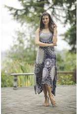 Papillon Kyla Medallion Print Midi Dress