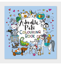 Rachel Ellen Designs Adorable Pets Colouring Book