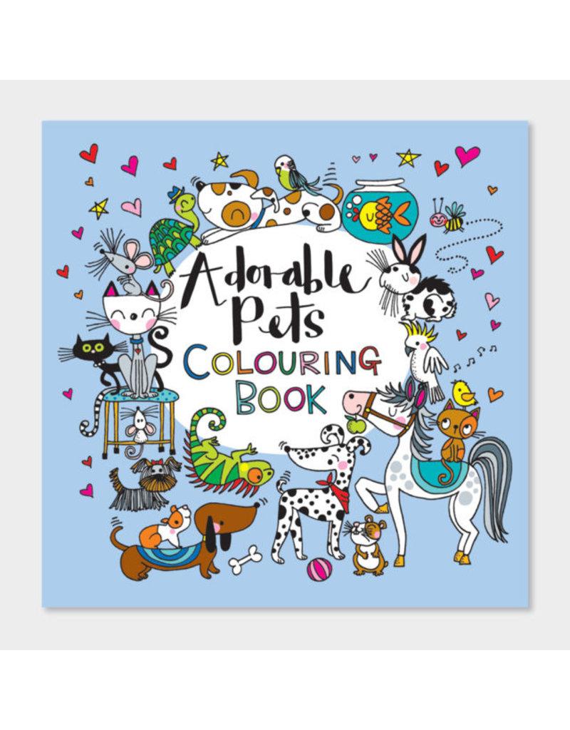 Rachel Ellen Designs Adorable Pets Colouring Book