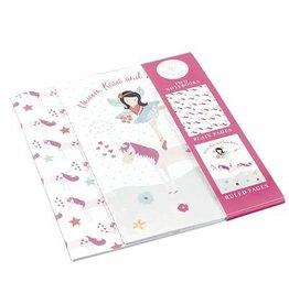 Floss & Rock Fairy/Unicorn Notebooks Set Of Two
