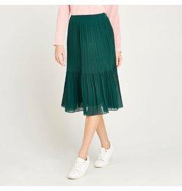 Apricot Lena Plisse Skirt