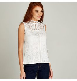 Apricot Mandy Lace Ladder Top