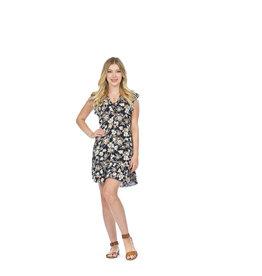 Papillon Kamil Floral Ruffle Dress