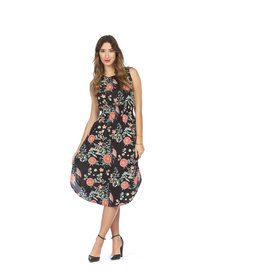 Papillon Tessie Floral Midi Dress