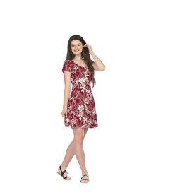 Papillon Darci Floral Short Sleeve Dress