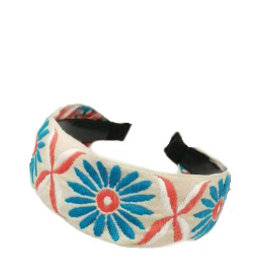 E&S Accessories Large Floral Headband (More Colours)