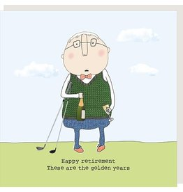 Rosie Made a Thing Card- Golden Years Retirement