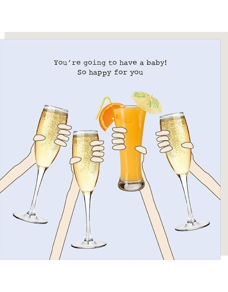 Rosie Made a Thing Card-Pregnant Cheers