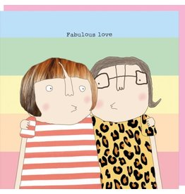 Rosie Made a Thing Card- Fabulous Love Female