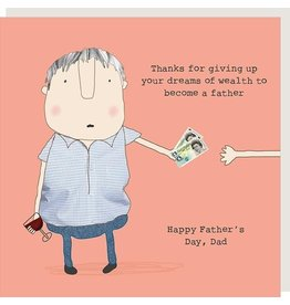 Rosie Made a Thing Father's Day Card - Dreams Of Wealth