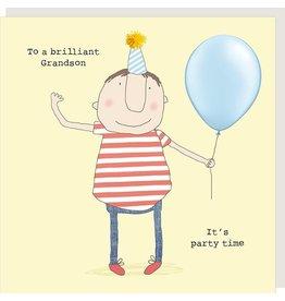 Rosie Made a Thing Card-Bday Brilliant Grandson