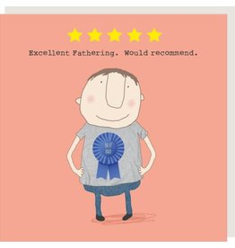 Rosie Made a Thing Card- Five Star Dad