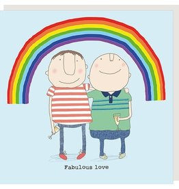 Rosie Made a Thing Card- Fabulous Love Male