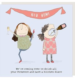 Rosie Made a Thing Card- New Home Disco