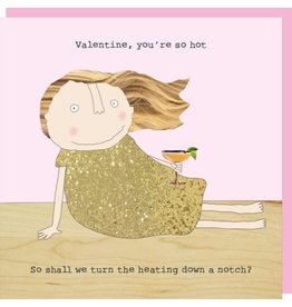 Rosie Made a Thing Card- Hot