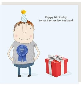 Rosie Made a Thing Card-Happy Bday Favourite Husband