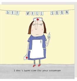 Rosie Made a Thing Card-Get Well-Nonsense