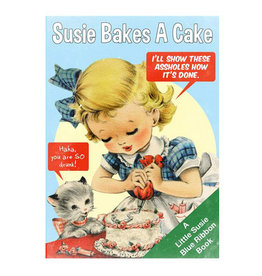 Magik Missile Card-Birthday Susie Bakes a Cake