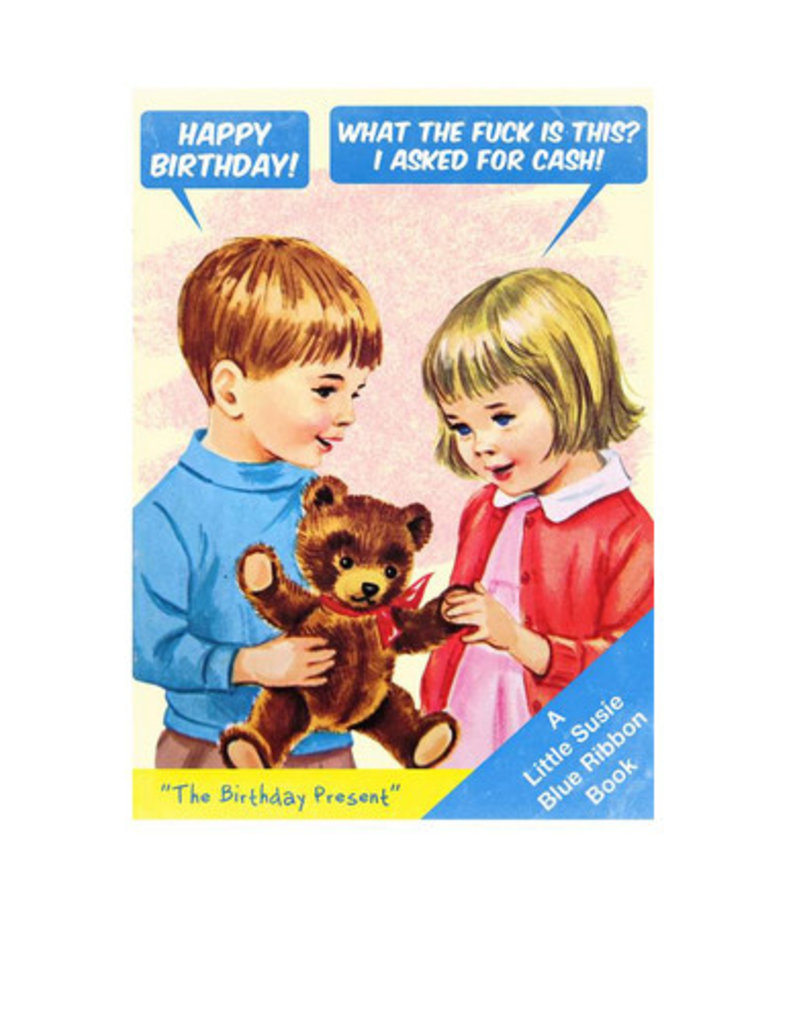 Magik Missile Card-The Birthday Present