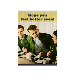 Magik Missile Card- Hope You Feel Better Soon