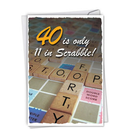 Noble Works Card- 40 Scrabble