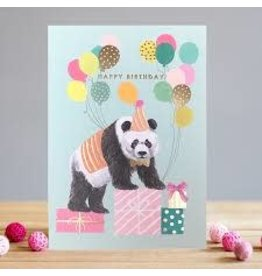 Card- Happy Birthday Panda w/ Balloons