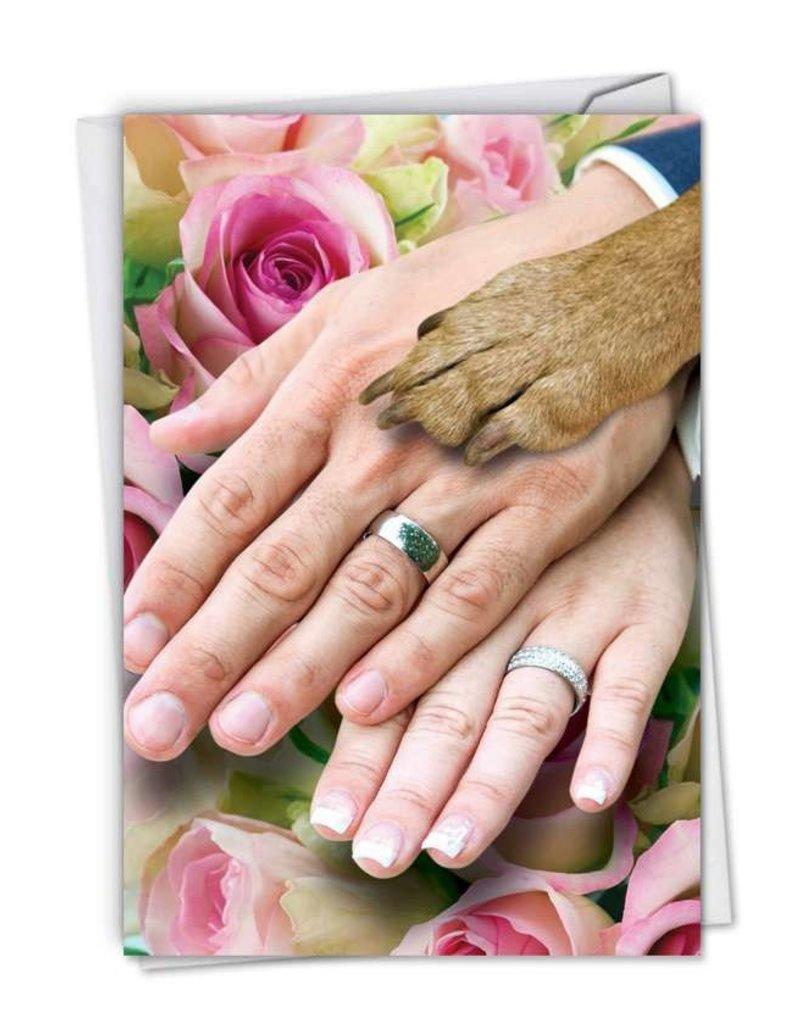 Noble Works Card- Wedding/Dog