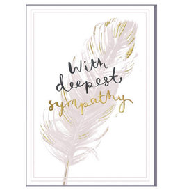 Card-With Deepest Sympathy