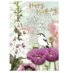 Hammond & Gower Card-Birthday Bird