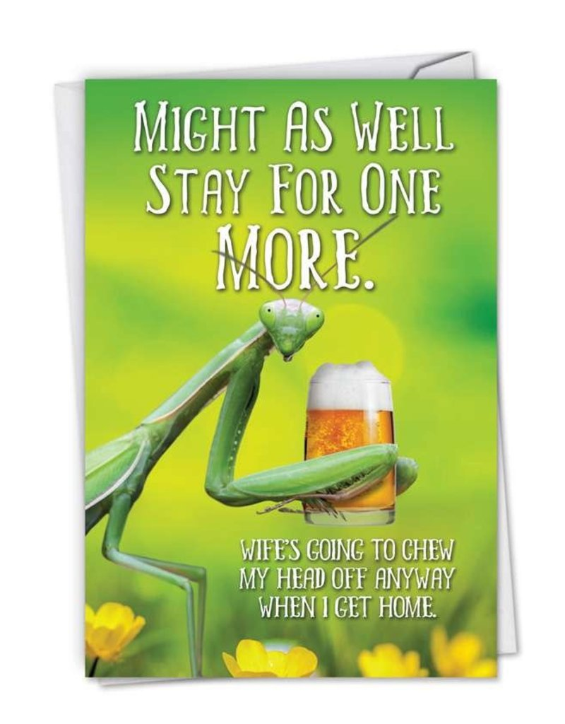 Noble Works Card-Stay for One More