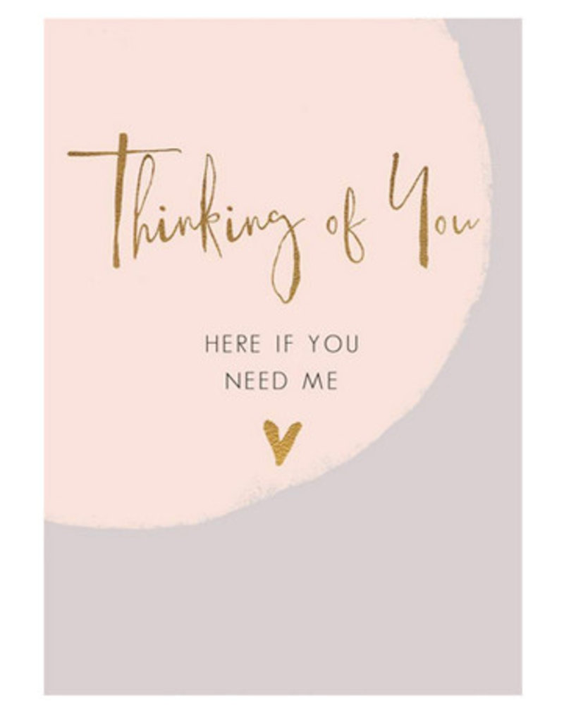 Hammond & Gower Thinking Of You Card