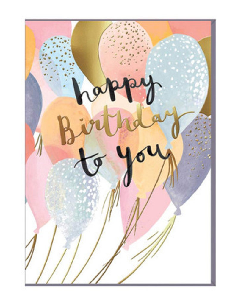Card-Happy Birthday to You
