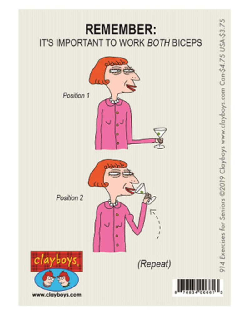 Clayboys Card Clayboys Exercises for Seniors